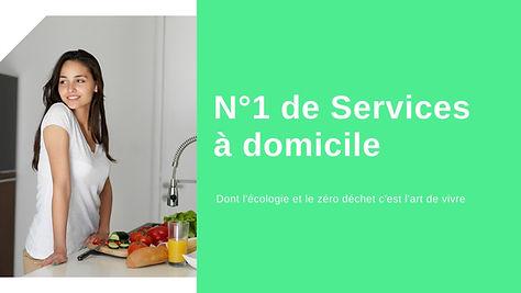 Services à domicile écologique et zéro déchet à Paris