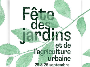 Fête des Jardins et de l'agriculture urbaine à l'Académie du Climat (25/09/21 et 26/09/21)