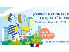 Journée nationale de la qualité de l'air (14/10/2021)