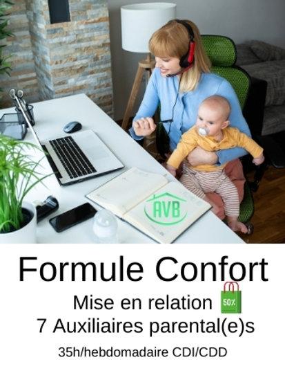 Formule Confort | 35h/H CDC ou CDI