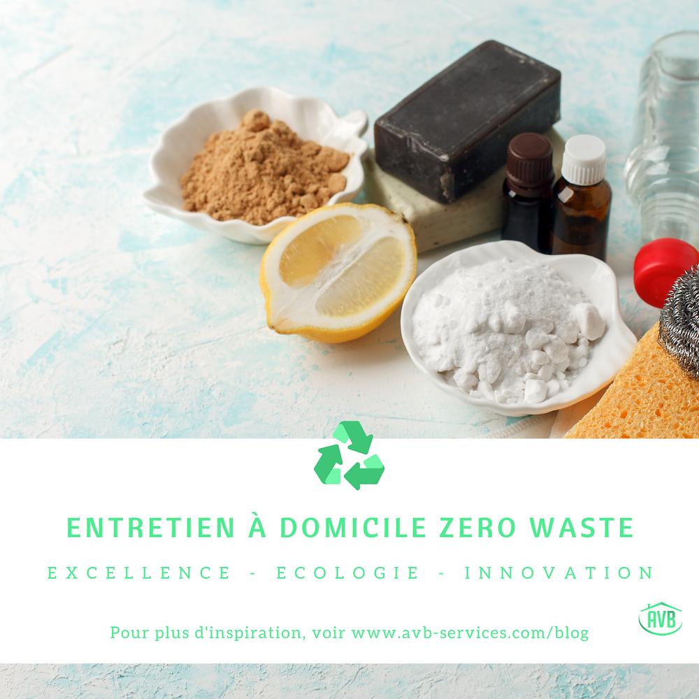 Nous réduisons la quantité des déchets