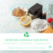 Entretien à domicile Zero Waste
