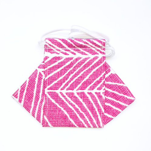 Chevron- pink Origami