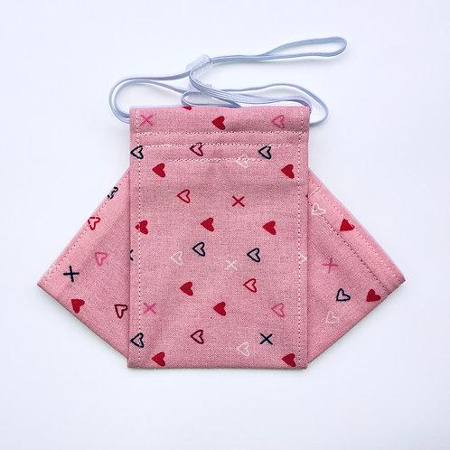 XOXO- pink Origami