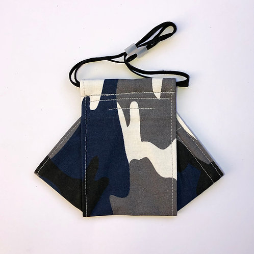 Camo-blue Origami