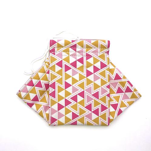 Tribus- pink Origami