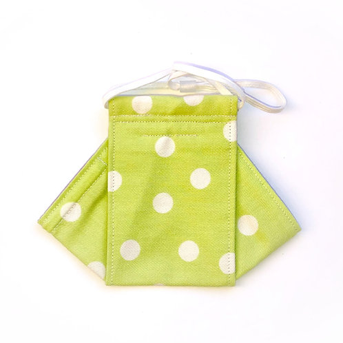 Lime Dots Origami
