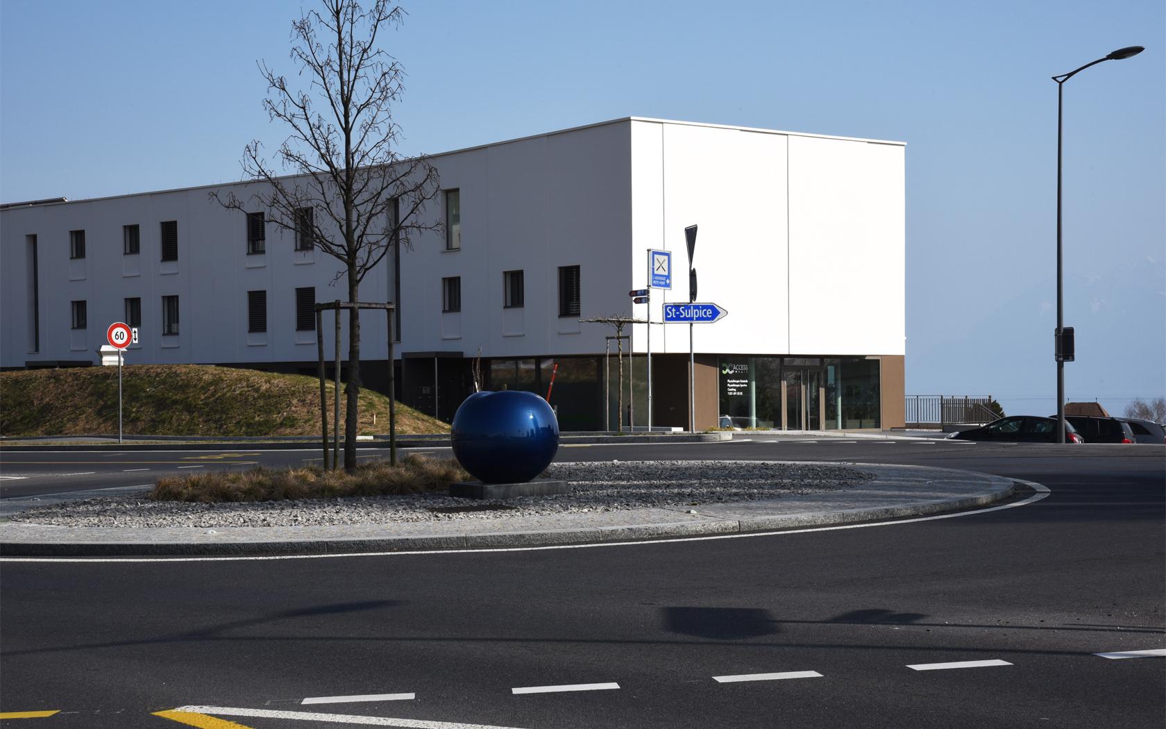 Face au Rolex Learning Center