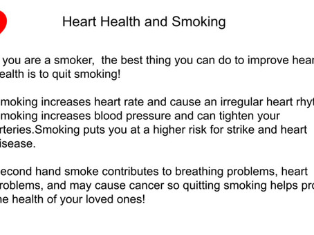 Heart Health Tip #2 of the Month