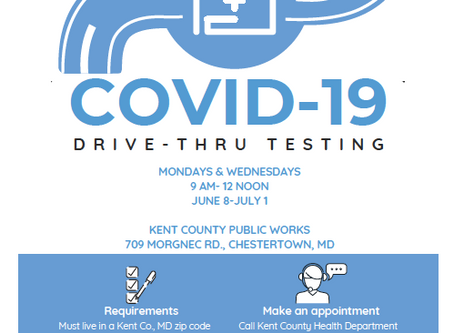 COVID-19 Drive Thru Testing Services In Kent County