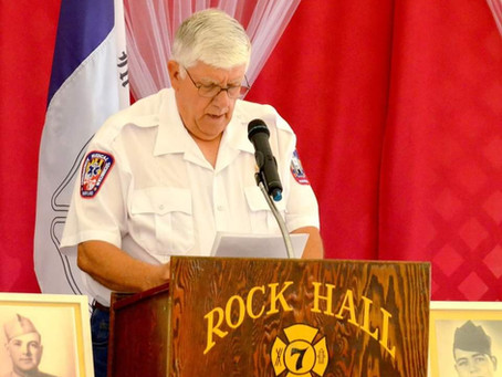 Dickie Jacquette celebrates 20 Years of Service.