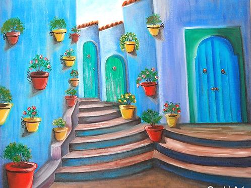 Moroccan Neighbourhood
