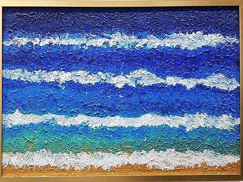 Texture Wave , Blue View