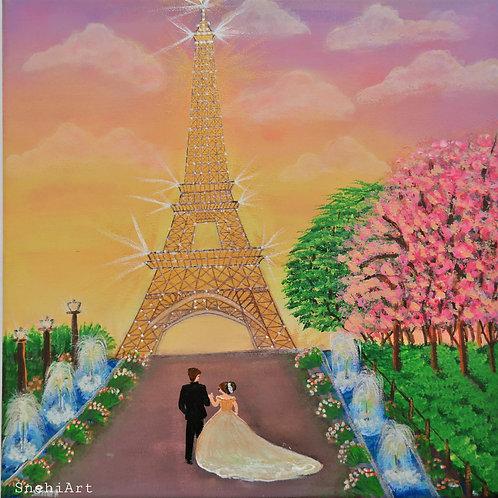 Eiffel Love Story