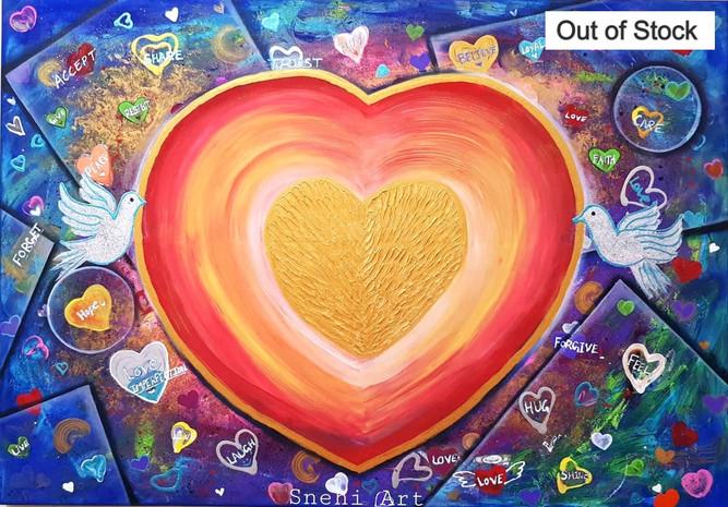 Golden Heart By Snehita