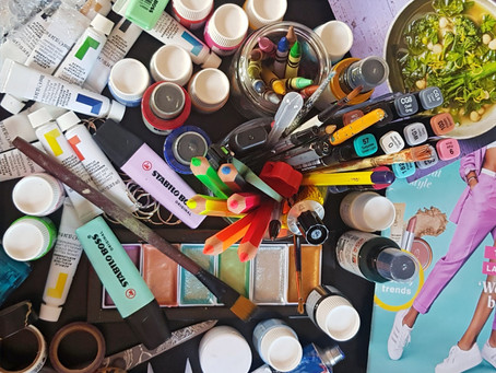 Art Materials Around Your Home  (Part One)