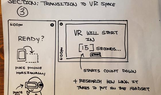 Entering VR
