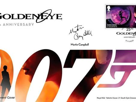Royal Mail to release 'GoldenEye' 25th anniversary souvenir