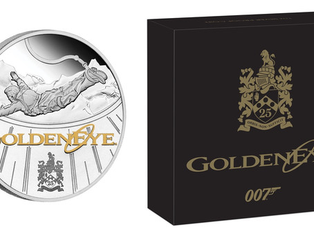 Perth Mint will release 'GoldenEye' 25th silver proof coin