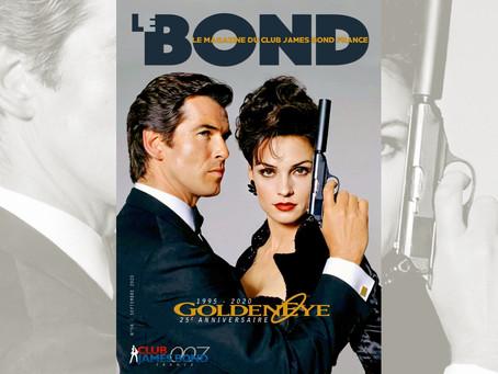 Le Bond magazine celebrates 'GoldenEye' in September