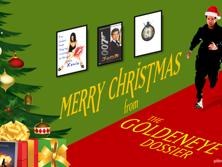 Merry Christmas, Bond fans!