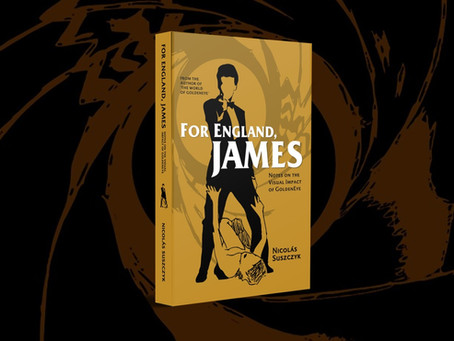'For England, James', a new book on 'GoldenEye', out this Christmas
