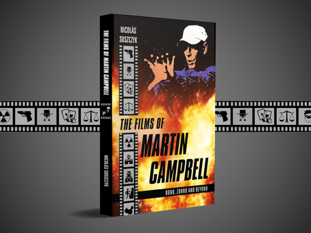 'The Films of Martin Campbell', a new book on two-time 007 director, out next week