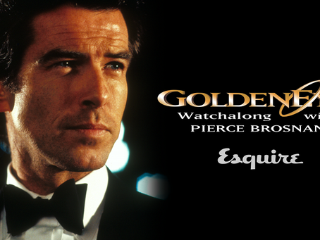 Esquire UK hosts 'GoldenEye' watchalong session with Pierce Brosnan