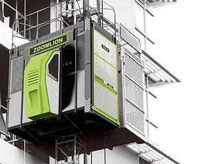 Foto de los ascensores Zoomlion con cabi
