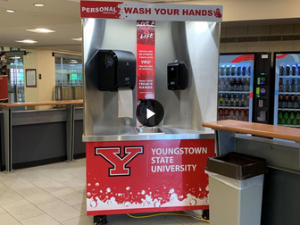 WFMJ News: YSU adding mobile sanitation units throughout campus - VIDEO CONTENT