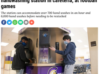 Sebring Schools plan to use new handwashing station in cafeteria, at football games