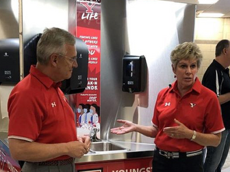Mahoning Matters: Ten Hand-washing Stations Installed on YSU Campus
