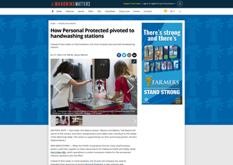 Mahoning Matters: How Personal Protected pivoted to handwashing stations