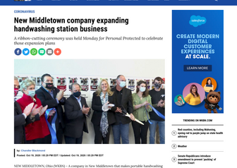 New Middletown company expanding handwashing station business