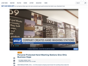 Personal Protected Hand Washing Stations Give Ohio Business Hope