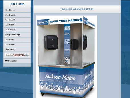 Jackson Milton Website Showcases the Quad-Sink as a New 'Health and Safety Measure'