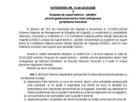 Grupului de suport tehnico - științificprivind gestionarea bolilor înalt contagioasepe teritoriul