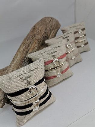 "Bracelet ""soie"""