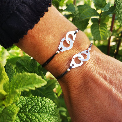 Bracelet lien menottes
