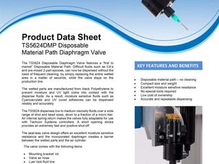 Diaphragm Valve TS5624DMP Data Sheet