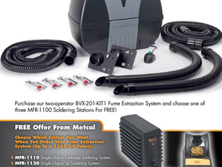 Promotion! Buy a BVX-201-KIT1 and Get an MFR-1100 System for Free