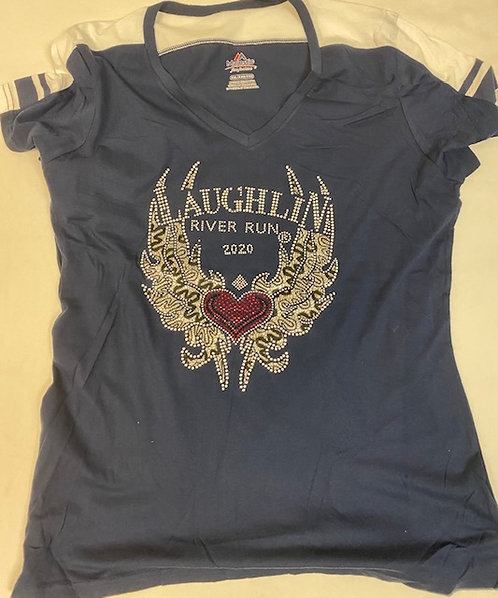 Laughlin River Run 2020 -V-neck Tee