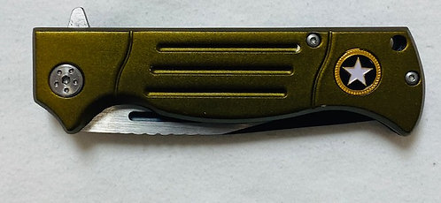 Reinforced Steel Folding knife