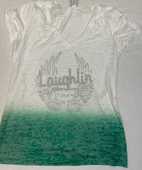 Laughlin River Run 2020 -V-neck Tee