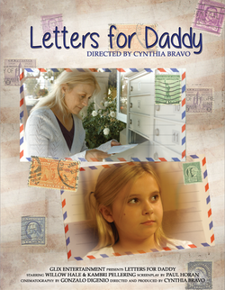 LETTERS FOR DADDY - POSTER