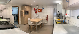 Blokhut de Vierdeuk keuken