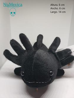 ajolote negro katido