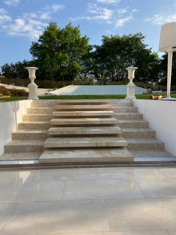 Escaliers cascade