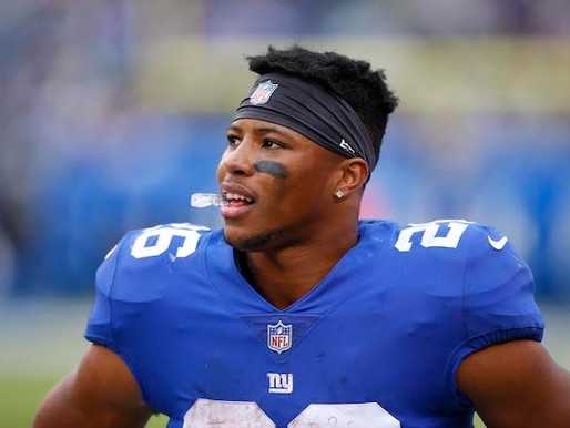 Saquon Barkley out for season with torn ACL.