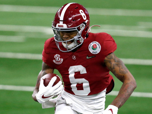 Eagles trade up for their guy: Devonta Smith headed to Philly